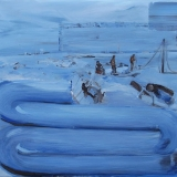 Erthbound, Oil on canvas, 85x90cm- 2015-min