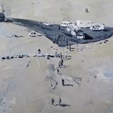 Land's End, Oil on canvas, 115x95cm- 2015 -min