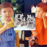 Mice Meeting, Oil on canvas, 75x100cm - 2006