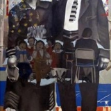 Untitled, oil on canvas, 185x115cm - 2007