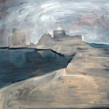 Saida Castle, Oil on canvas, 100x100cm - 2011