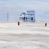 Ice Cream Van, oil on canvas, 40x50cm - 2013