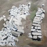 Marble Ruins, oil on canvas, 90x100cm -2013