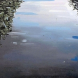 Reflection, oil on canvas, 100x120cm - 2013