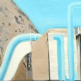 Skate Tubes, oil on canvas, 63x90cm - 2013