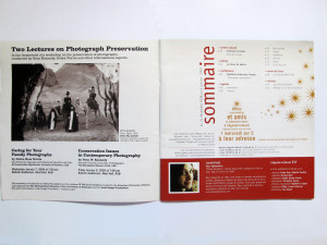 L'Agenda Culturel, cover, Issue 337, 24 December, 6 January, 2009