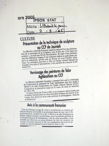 L'Orient Le Jour, March 7, 2005