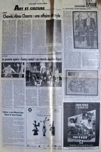 L'Orient Le Jour, March 16, 2005